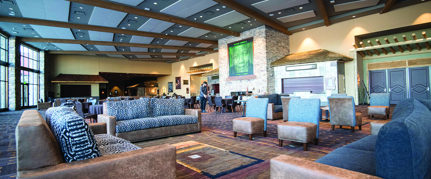 an overview of kalahari resorts & conventions new convention center lobby